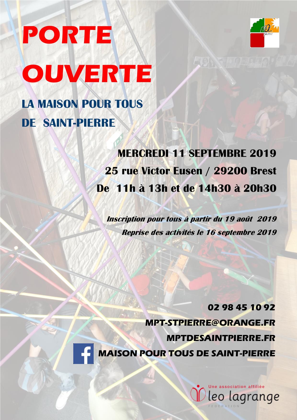 Porte Ouverte 2019